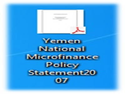 Yemen National Microfinance Policy Statement 2007